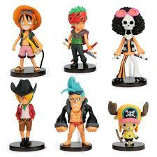 <b>6pcs</b>/<b>lot</b> One Piece luffy Joba 's Adventure PVC Action Figure Model ...