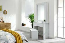 Modern White <b>Dressing Table</b> Makeup Vanity Desk Bedroom w