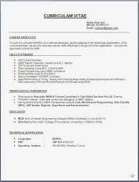 resume templatessap abap developer resume format