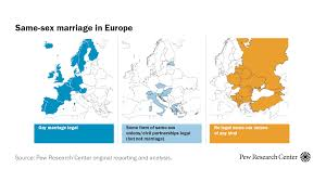 Where Europe stands on gay marriage and civil unions | Pew ...