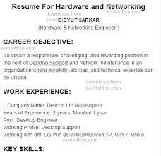 resume format for computer  tomorrowworld coresume