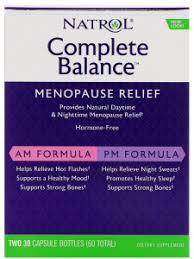 Complete Balance for menopause, AP/<b>PM</b>, 60 капсул, Natrol - цена ...
