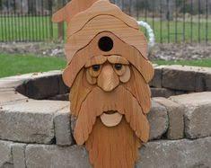 Large Cedar Pirate Birdhouse, Cedar Birdhouse, Blackbeard, Cedar ...