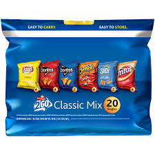 chips snacks cookies chips com com fritolay 2go classic mix variety pack 20 1 oz 20 oz