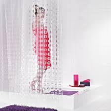 <b>Штора для ванных комнат</b> Loupe полупрозрачный 180*200 <b>Ridder</b>
