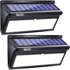 BAXIA TECHNOLOGY <b>Solar</b> Lights Outdoor, Wireless <b>100 LED</b> ...