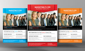 marketing flyer template marketing flyer template and business marketing flyer template by business templates on creative market