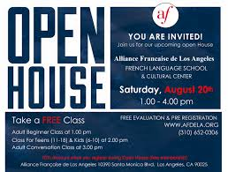 open house alliance fran ccedil aise de los angeles about this event event flyer