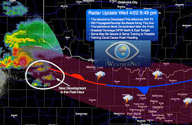 dfw tstorms late weds be severe w localized flooding thunderstorms in northwest texas moving southeast and expanding in coverage 8 49 pm wed 4 22