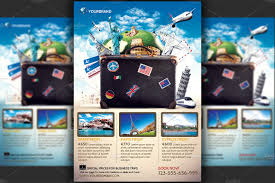 travel agency promotional flyer temp flyer templates on creative travel agency promotional flyer temp flyer templates on creative market