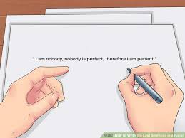 Image titled Write the Last Sentence in a Paper Step   wikiHow