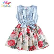 Belababy Baby <b>Girl Dress Summer 2019</b> New Flower Girls Dresses ...