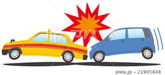 「追突事故 イラスト」の画像検索結果