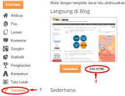 Cara Memasang Widget Facebook Like Box Di Blog