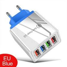 $3.50 for <b>LEEHUR 5V</b> 3A Fast Charging 4 Ports USB Charger Quick ...