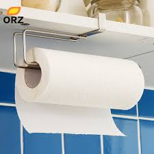 supply kitchen roll paper kitchen paper holder hanger tissue roll towel rack bathroom toilet sin