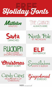 best ideas about christmas cards chalkboard holiday fonts from she uncovered holidayfonts