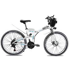 <b>SMLRO MX300</b> electric mountain bike folding bike 26 in