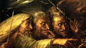 a level revision a literature the witches the three witches are a tool utilised by shakespeare in order to accentuate the greed desire and over ambition of humanity from an external