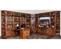 sunny designs sedona library wall su 2966ros buy home library furniture