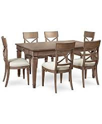 seven piece dining set: winston  piece dining set dining table amp  side chairs