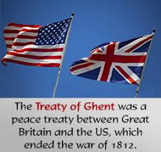 「Treaty of Ghent」の画像検索結果