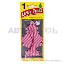 Little Trees U1P10348RUSS <b>Ароматизатор Елочка Бабл</b> гам ...