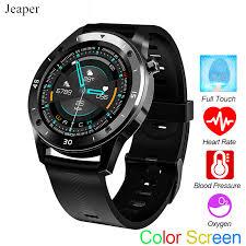 <b>Jeaper</b> F22 <b>Waterproof Smart Watch</b> Men Touch Color Screen ...