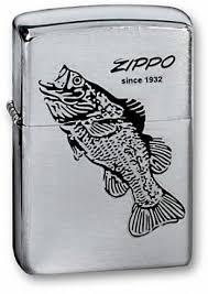 Купить <b>Зажигалка ZIPPO</b> 200 <b>Black Bass</b> - Окунь | Интернет ...