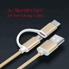 Aliexpress.com : Buy <b>2 in 1 2in1</b> 2A Fast Charge <b>Cable</b> Micro <b>USB</b> + ...