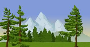 Image result for green mountains clipart