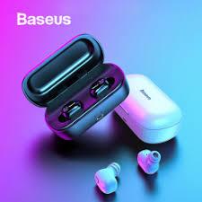 Беспроводные <b>наушники Baseus</b> W01 TWS Bluetooth (5.0)
