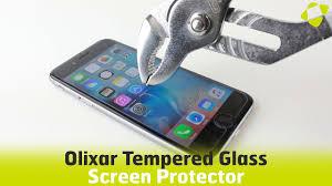 Olixar <b>9H Tempered</b> Glass <b>Screen Protectors</b> - Strength Test ...