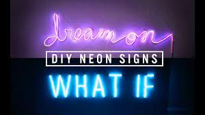 DIY <b>NEON SIGN</b> DECOR | THE SORRY GIRLS - YouTube