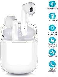 Bluetooth 5.0 Wireless Earbuds, Wireless Bluetooth ... - Amazon.com