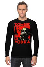 <b>Лонгслив Zombie</b> Vodka #1038205 от Leichenwagen по цене 1 ...