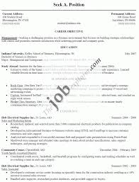 resumes samples for jobs part time job cover letter example resume job resume example resume format for part time job view sample resume format in