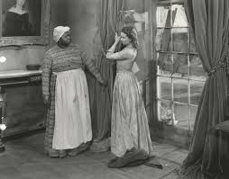 gowns illustrations and more the making of gone the wind set still of hattie mcdaniel and vivien leigh for the drapery dress scene