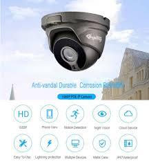 <b>Kingkonghome</b> Metal <b>POE IP Camera</b> 4MP ONVIF Network ...