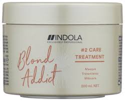 Indola Blond Addict <b>Маска для окрашенных и</b> обесцвеченных волос