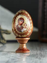 """<b>Яйцо</b> подарочное """"Богоматерь Казанская"""", на подставке KUDU ..."""