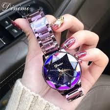 Dimini <b>Fashion</b> Luxury <b>Women Watches Lady Watch</b> Gold Quartz ...