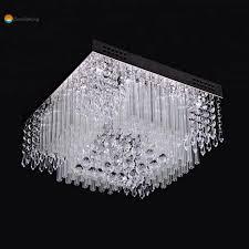 China <b>K9</b> Full Crystal Pendant Square Crystal Ceiling Lighting ...