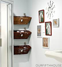 floating shelves sinks creative storage