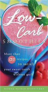 <b>Low carb</b> smoothie book