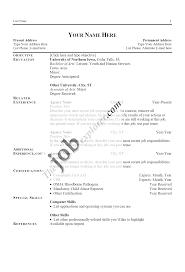 example job resumes cipanewsletter sample resumes that get the job resumes that get jobs good