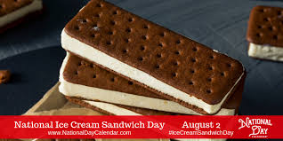 NATIONAL ICE CREAM SANDWICH DAY - August 2 - National Day ...