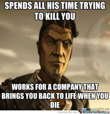 Good Guy/bad Luck Handsome Jack by arakune - Meme Center via Relatably.com