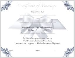 certified editable marriage certificate template seal certified editable marriage certificate template