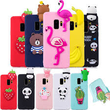 <b>3D DIY</b> Cartoon Patterned <b>Soft Silicone</b> Case Cover For Samsung ...